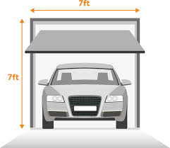 Single Garage Door Sizes (One Car)